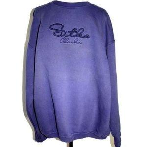 Perrin Wear Mens 2X Blue Heavy Sweatshirt Sitka AK